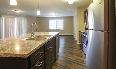 Kitchen, Veraway Apartments, 1