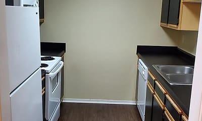 Kitchen, Mountain View Apartments, 1