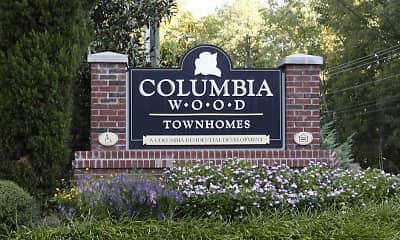 Community Signage, Columbia Wood, 2
