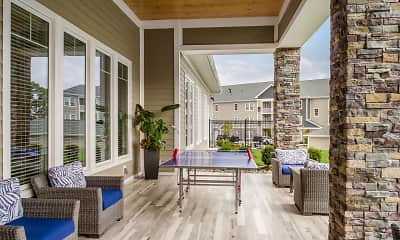 Patio / Deck, The Oasis At Plainville, 1