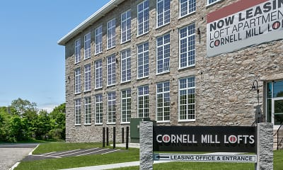 Building, Cornell Mill Lofts, 2
