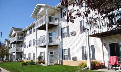 Building, Rosewood Villas Senior Apartments, 2