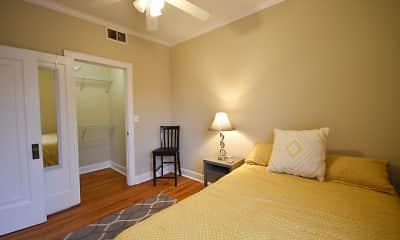 Bedroom, 1215 W. Diversey, 2