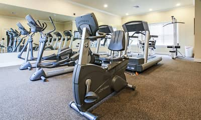Fitness Weight Room, Deerfield Commons, 1