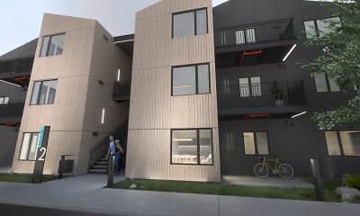 Building, Crescent Point Apartments, 0