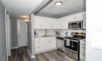 Kitchen, Station J-Town Apartments, 1