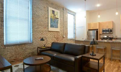 Living Room, Gish Flats, 0