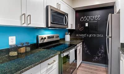 Kitchen, AVA Van Ness, 1