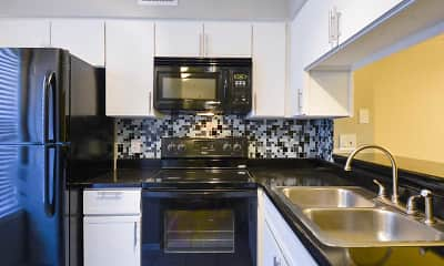 Kitchen, Village Condominiums, 1
