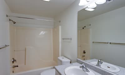 Bathroom, CW Moore Apartments, 2