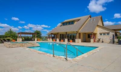 Pool, Oak Hollow, 1