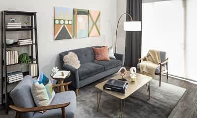 Living Room, Madera at LeftBank, 1