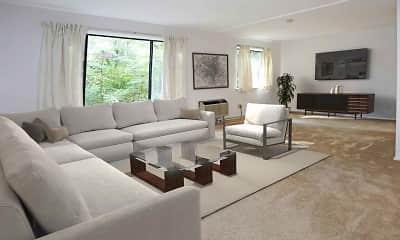 Living Room, The Glen Apartments, 0
