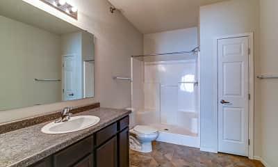 Bathroom, Silver Lake Apartments, 2