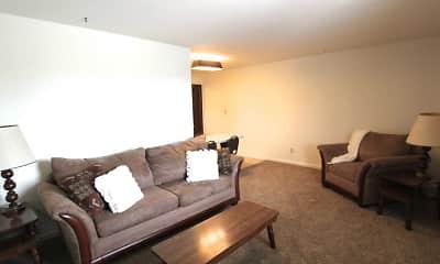 Living Room, Stateline Apartments, 1