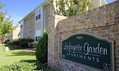 Community Signage, Lafayette Garden Apartments, 2