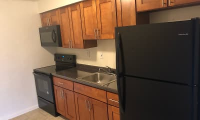 Kitchen, Glenmore Place Apartments, 0