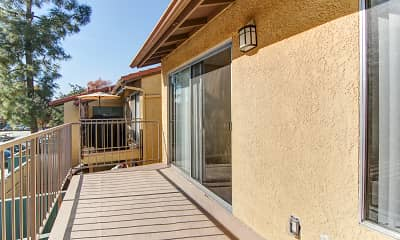 Patio / Deck, Sierra Vista Apartment Homes, 2