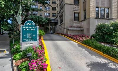 Building, 4801 Connecticut Avenue Apartments, 1