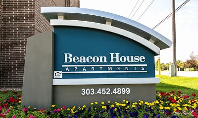 Community Signage, Beacon House Apartments, 1