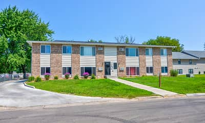 Building, Northbrook Apartments, 1