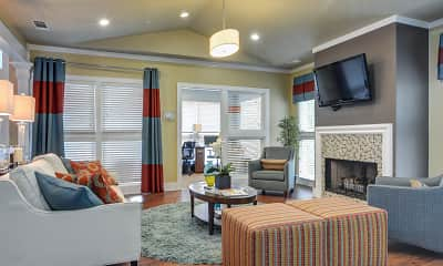 Clubhouse, Wood Pointe Apartments, 1