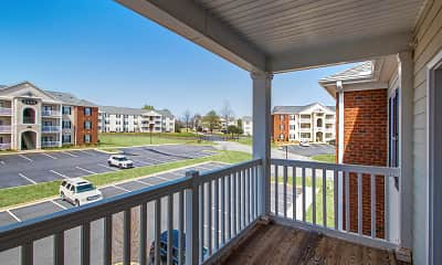 Patio / Deck, Heatherstone Apartments, 2