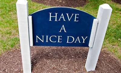 Community Signage, Woodside Village Senior Community, 2