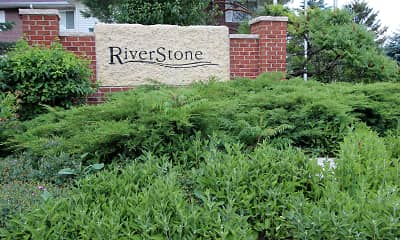 Community Signage, RiverStone Apartments, 2