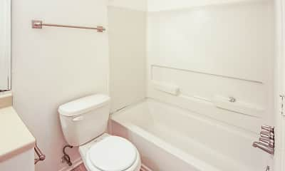Bathroom, Baywood Apartment Homes, 2