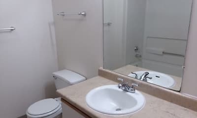 Bathroom, Cascade Village, 2