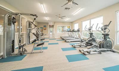 Fitness Weight Room, Bay Cove, 1
