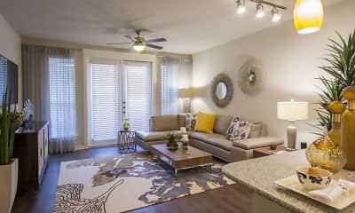 Living Room, 77379 Luxury Properties, 2