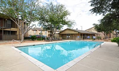 Pool, Woodview Apartments, 0
