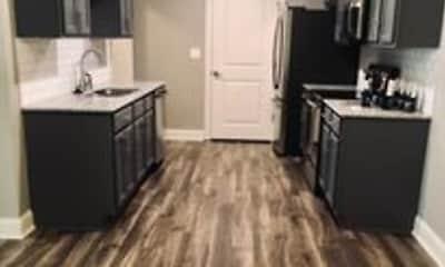 Kitchen, Grove Park Apartments, 1