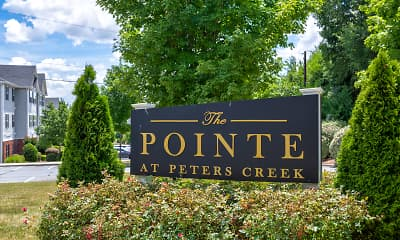 Community Signage, The Pointe at Peters Creek, 1