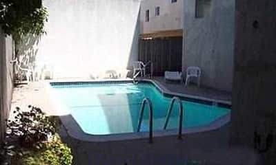 Pool, Madison South Apartments, 1