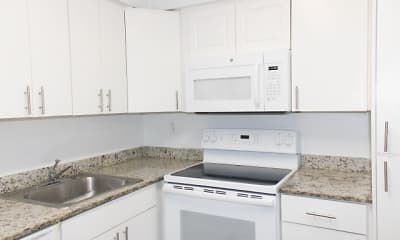Kitchen, Suncoast Place Apartments, 2