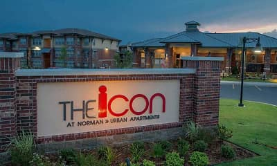 Community Signage, Icon At Norman, 1