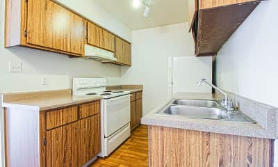 Kitchen, Waterfront Apartment Homes, 1