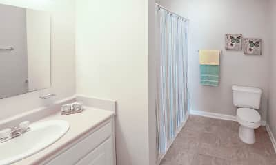 Bathroom, Pacific Park Apartments, 2