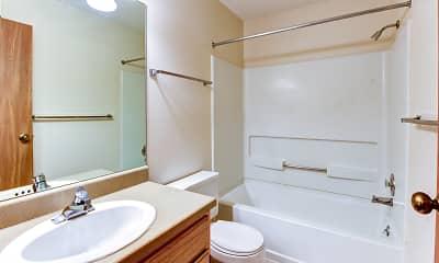 Bathroom, Waters Edge Luxury Apartments, 2