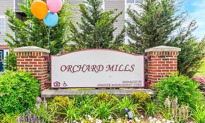 Community Signage, Orchard Mills, 2