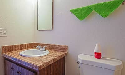 Bathroom, Canyon Club, 2