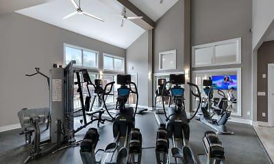 Fitness Weight Room, The Promenade At Berkeley, 1