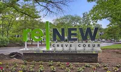 Community Signage, ReNew Creve Coeur, 2