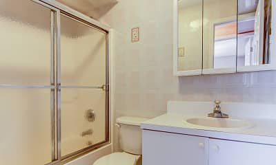 Bathroom, Seaview Apartments, 2