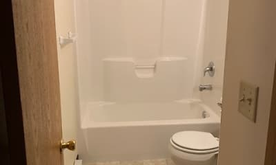 Bathroom, Eastside Townhomes, 2