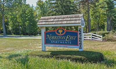 Community Signage, Norriton East Apartments, 0