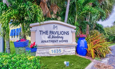 Community Signage, The Pavilions at Monterey, 2